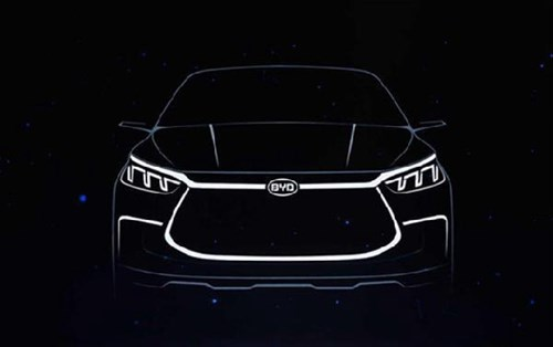 Lighting effect of BYD Dynasty prototype