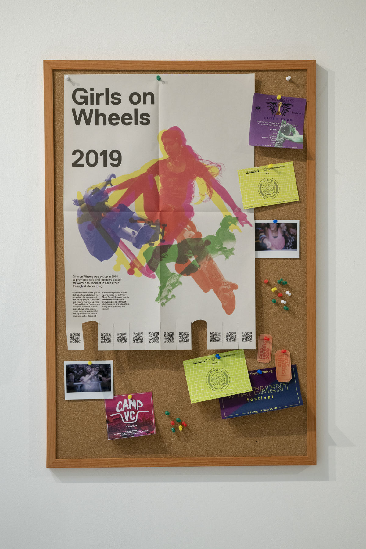 Girls On Wheels 2019 poster