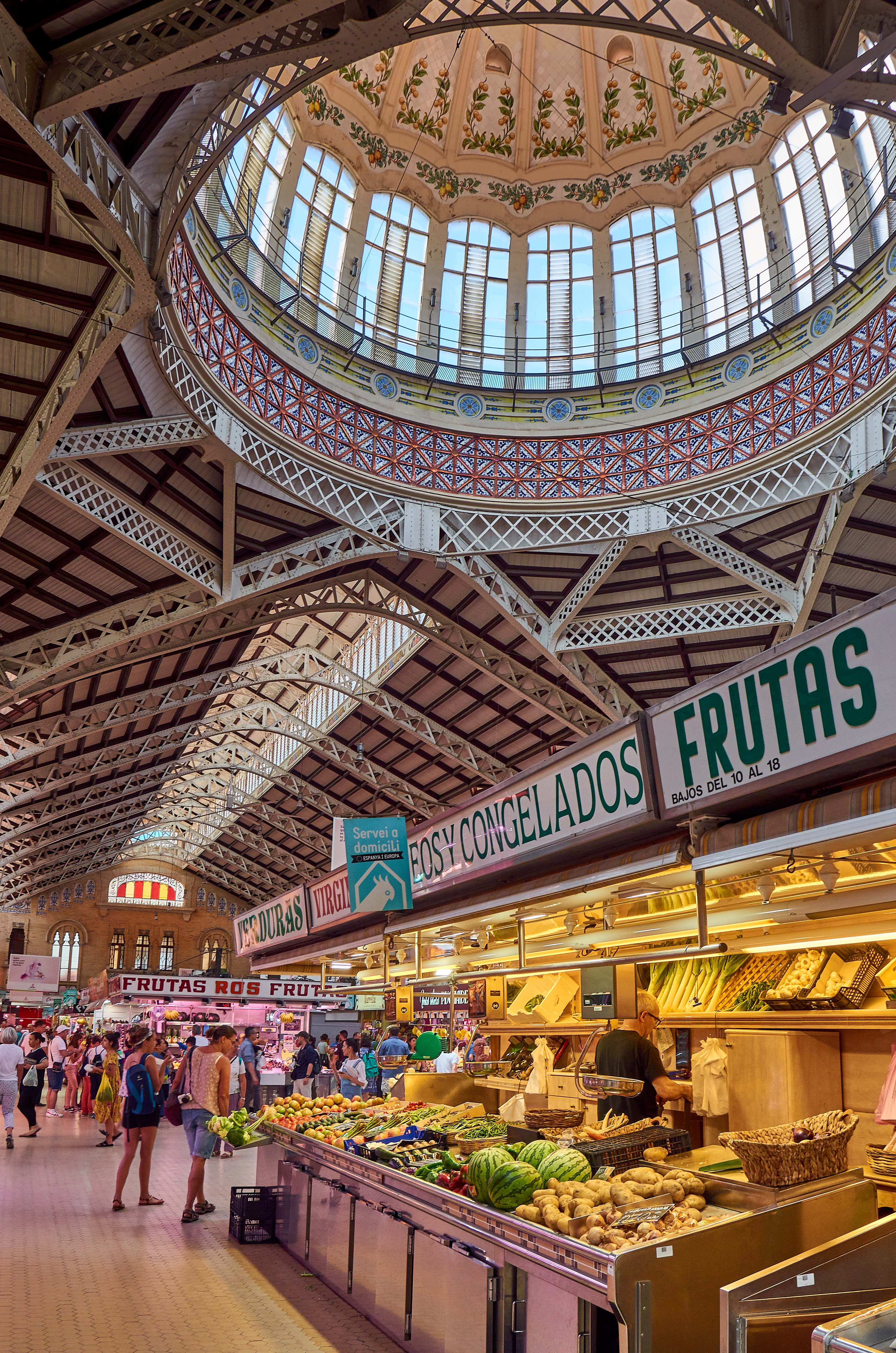 Mercado Central Market, Valencia