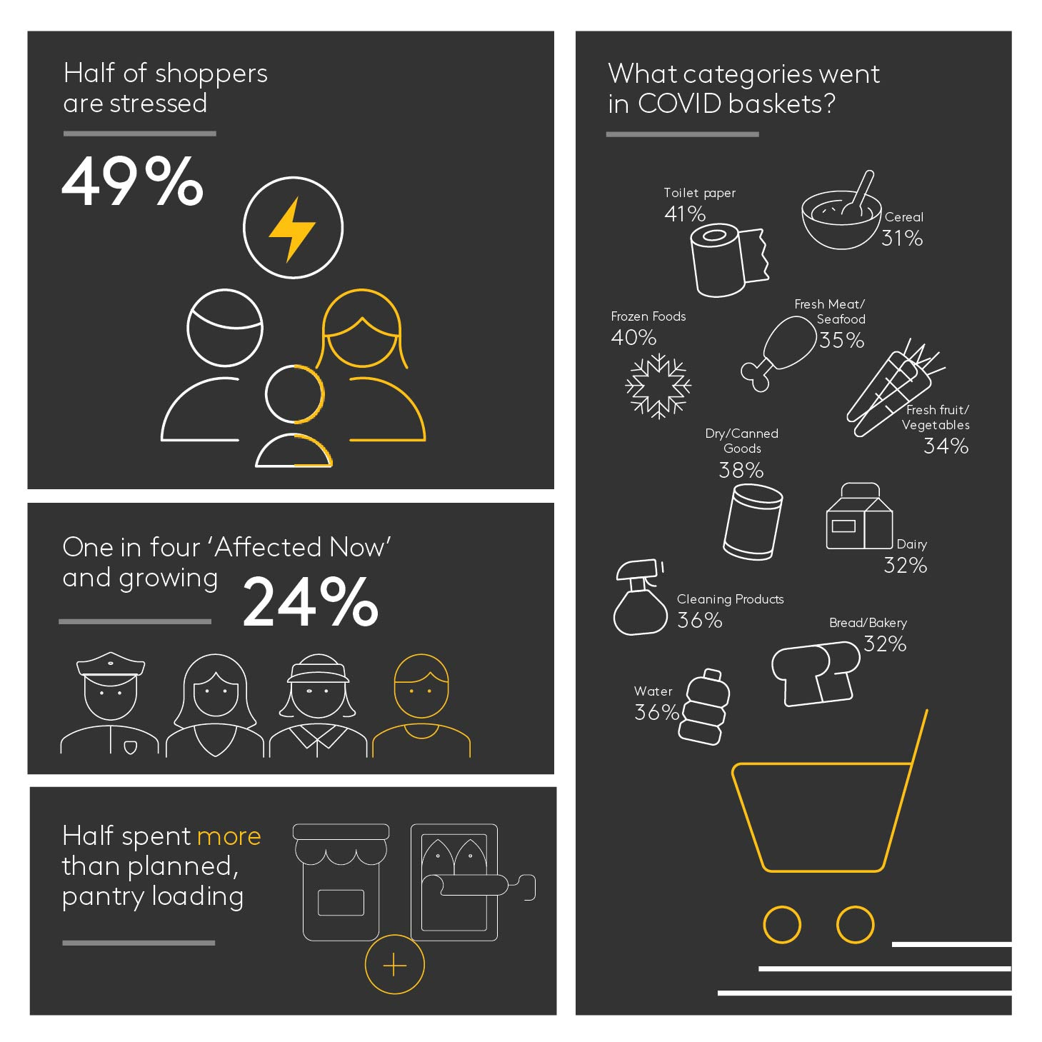 COVID Commerce Infographic snapshot