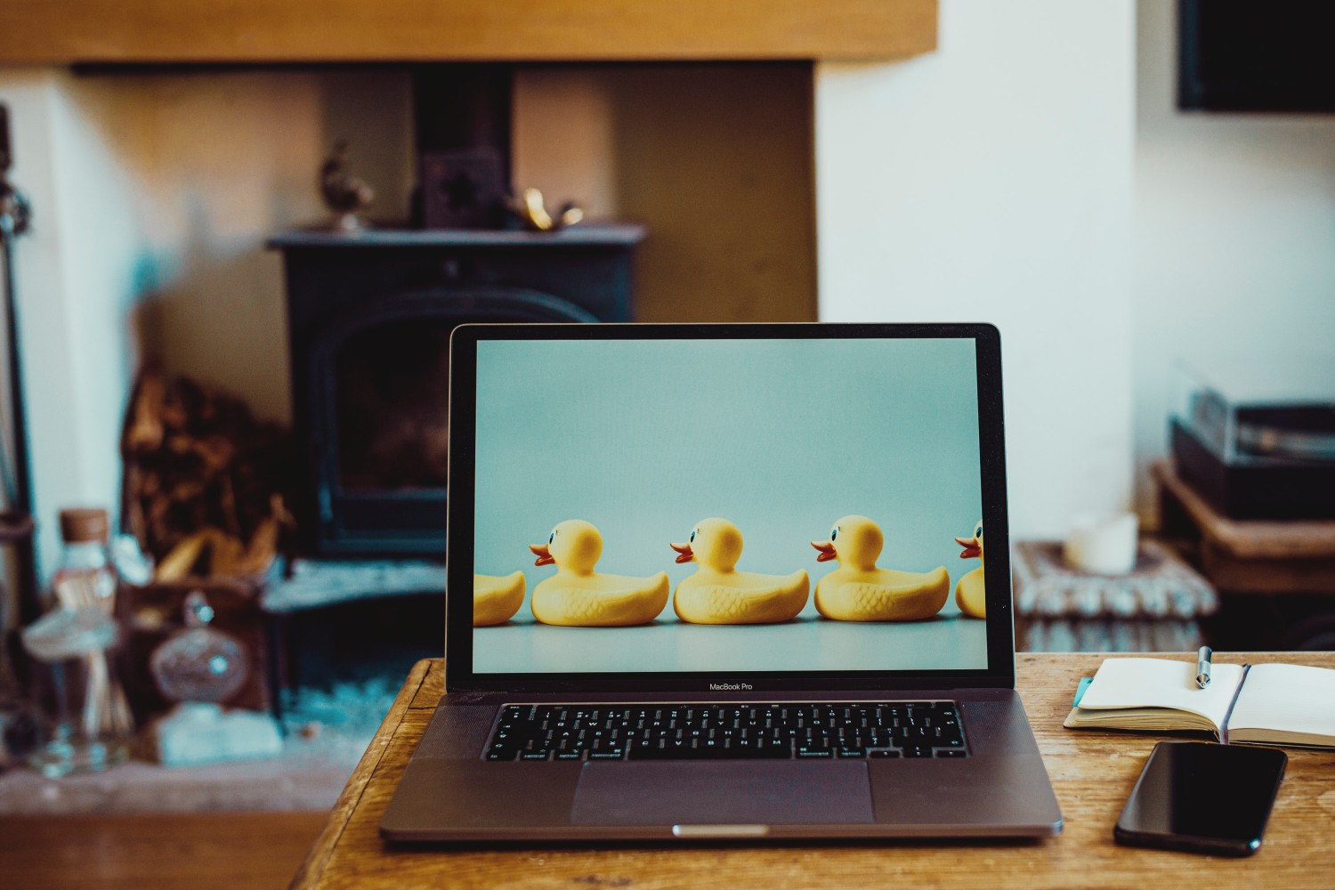 working from home ducks in a row