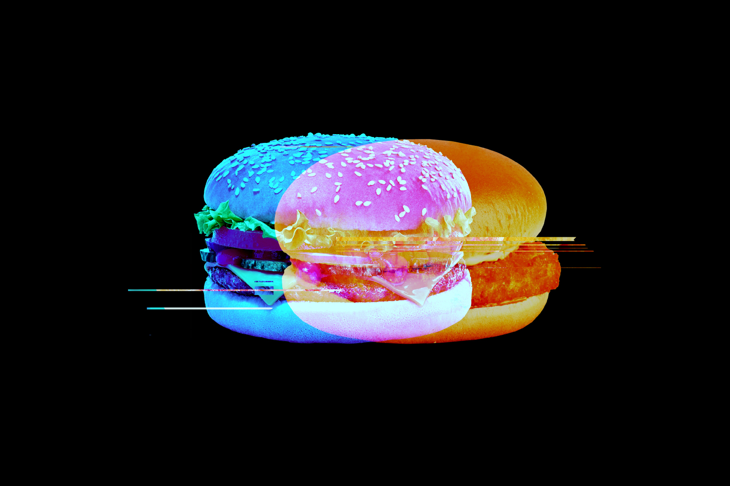 Hamburger download media reactions