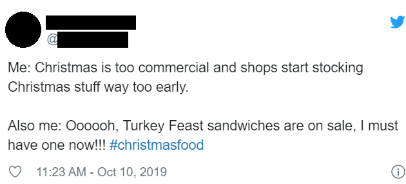 Christmas sandwiches 1